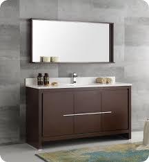 modern single sink bathroom vanities. Fresca FVN8119WG-S Allier 60\ Modern Single Sink Bathroom Vanities