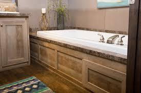 manufactured home bathroom drop in soaker tub