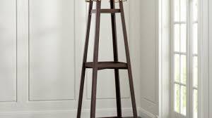 Leigh Coat Rack Inspiration Free Standing Coat Rack With Storage Modern Wood Shoe Garment Hat