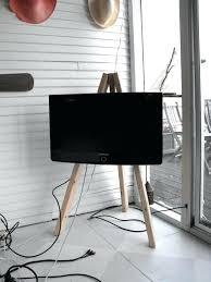 easel tv stand display on wheels uk
