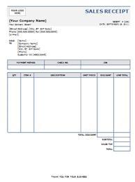 sale receipt template free sales receipt blank sales receipt template 8ws templates forms