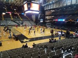 Memorial Gym Seating Chart Memorial Gymnasium Section F Rateyourseats Com