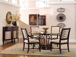 Glass Dining Table Set 6 Chairs Round Room Tables Ikea Dubai Kitchen