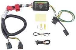 trailer wiring harness installation 2008 hyundai santa fe video 2004 Hyundai Santa Fe Wiring Harness curt t connector vehicle wiring harness for factory tow package 4 pole flat 2004 hyundai santa fe wiring harness