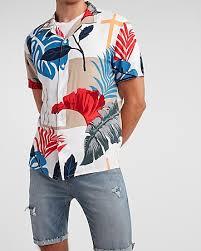 <b>Men's Short Sleeve</b> Casual <b>Shirts</b> - <b>Short Sleeve</b> Button Ups - Express