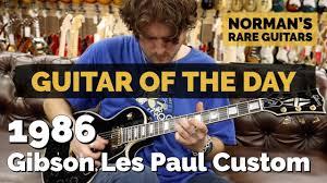 <b>Guitar</b> of the <b>Day</b>: 1986 <b>Gibson</b> Les Paul Custom | Norman's Rare ...