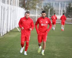 Fatih Karagümrük Maçının Hazırlıkları Başladı - Demir Grup Sivasspor Kulübü  Resmi İnternet Sitesi