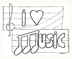 For Kid Music Coloring Pages 11 For Free Online With Music