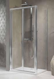 novellini lunes s bifold shower door 900 silver finish luness84 1b