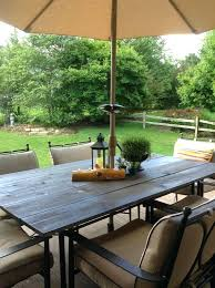 glass top patio table collected society patio table top tutorial after glass table top breaks tempered
