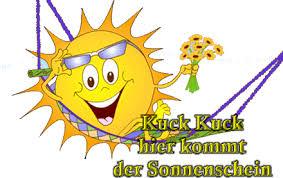 Kuck Kuck Hier Kommt Der Sonnenschein Wetter Bild 24670