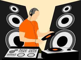 dj speakers vector. mixing dj graphics dj speakers vector