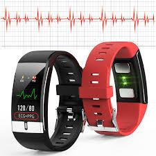 <b>E66</b> Body Temperature Blood Pressure <b>Fitness Tracker</b> Smart Watch ...