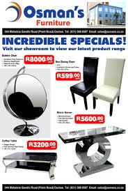 osman s furniture incredible specials