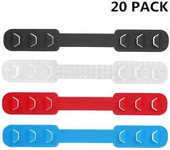 TAIlF 20PCS Third Gear <b>Adjustable Anti-Slip Mask Ear</b> Grips ...