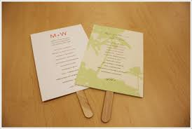 smartly events itinerary bridal party thank you bride groom favor friday paper fans wedding inspiration