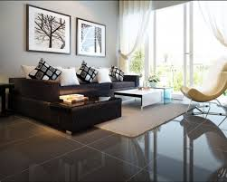 Black With A Sectional Living Room Decorating Ideas Carameloffers - Black couches living rooms