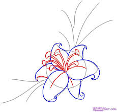 Small Picture 23 best flowers images on Pinterest Flowers Drawing and How to draw