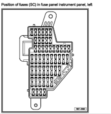 i just bought a 2006 passat 3 6l the fuse diagram in the graphic