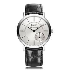 mens ultra thin watches the watch gallery piaget altiplano white gold ultra thin mens watch g0a38130