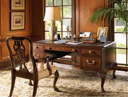 home office writing desk. Antique Writing Desk And Carving Wood Chair Design Feat Floral Area Carpet Plus Rustic Home Office T