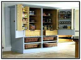 shallow pantry cabinet kitchen stand alone cabinets black unfinished wood wall cabi