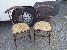 edwardian bedroom chairs. mahogany rattan chairs x 2 nursery bedroom edwardian victorian vintage chair s