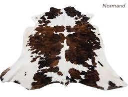 cowhide rug normand