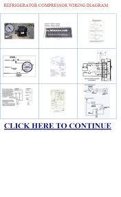 refrigerator compressor refrigerator compressor wiring diagram refrigerator compressor wiring diagram images