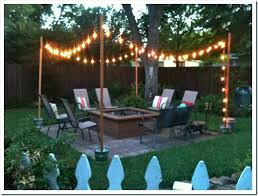 pole for hanging lights patio string light pole outdoor string lights patio string light pole