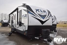 2020 forest river xlr hyper lite 25hfx toy hauler travel trailer