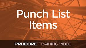 Create, Distribute, And Respond To Punch List Items In Procore - Youtube