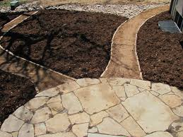 Small Picture Colorado Buff Flagstone Patio and Stone Edged Walkway Installed By