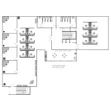 draw floor plans office. Office Floor Plan Maker. Maker Smartdraw Draw Plans E