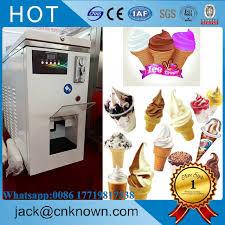 Soft Serve Vending Machine Stunning 48 Popular White Color 48 L 48 Kg Big Capacity Automatic Soft Ice