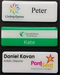 Design You Own Custom Name Badges Lanyards Id Tags Australia