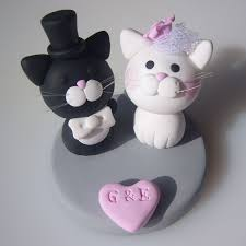 Funny Cat Wedding Cake Toppers Cat Wedding Cake Toppers blomwedding
