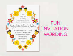 15 Creative Traditional Wedding Invitation Wording Samples Apw
