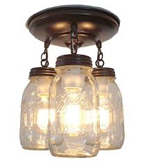 mason jar kitchen lights great idea for adding some farmhouse flair to your home