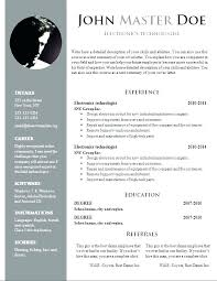 Resume Formatting Word Word Document Resume Template Word Document