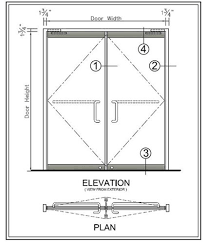 glass door building fenestration detail drawings