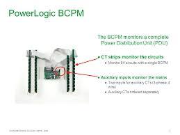 powerlogic branch circuit power meter bcpm ppt 2 powerlogic