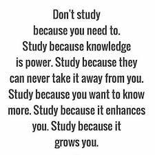 Inspirational Quotes For Students In College study because it grows you ☆´¯`☆ follow motivation100study 46