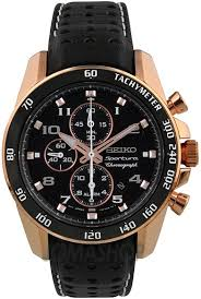 seiko men s snae80 sportura rose gold ion plated stainless steel this item is currently out of stock
