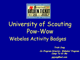 University of Scouting Pow-Wow - ppt video online download