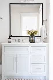 Winsome Ideas Black Framed Mirrors For Bathroom Best 25 Mirror