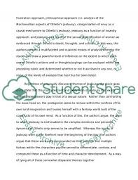 jealousy in othello a critique and review essay jealousy in othello a critique and review essay example