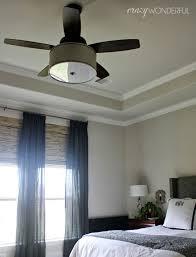 crazy wonderful fantastic diy drum shade light fixture on a hunter highbury ceiling fan