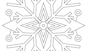 Snowflake Mandala Coloring Pages Adult Coloring Pages