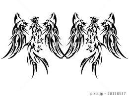 不死鳥 フェニックス 火の鳥 炎のイラスト素材 Pixta
